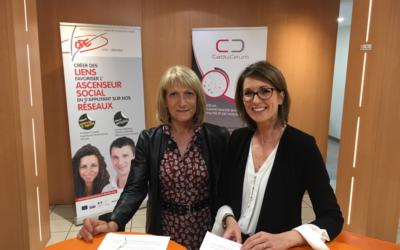 OPE signe une convention de partenariat avec Caduceum le 15/05/2019