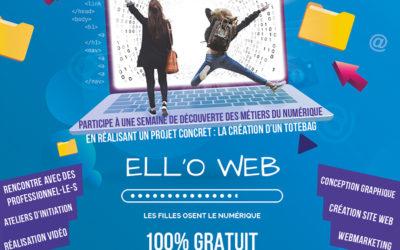 Ouverture inscriptions ELL'OWEB 2020 !