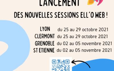 ELL'OWEB-Il reste des places pour les sessions de Lyon et St Etienne !